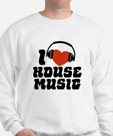 I Love House Music Jumper