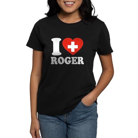Love Roger Women's Dark T-Shirt