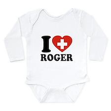Love Roger Long Sleeve Infant Bodysuit