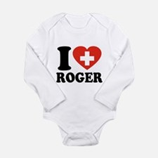 Love Roger Long Sleeve Infant Bodysuit