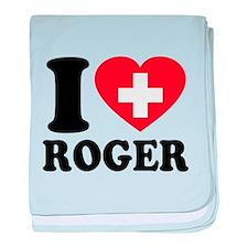 Love Roger baby blanket
