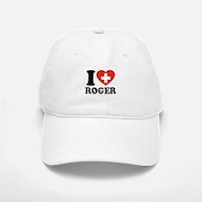 Love Roger Baseball Baseball Cap