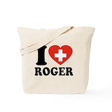 Love Roger Tote Bag