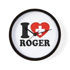 Love Roger Wall Clock