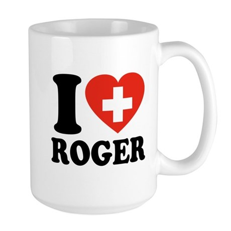 Love Roger Large Mug