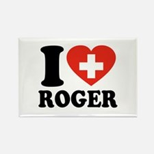Love Roger Rectangle Magnet