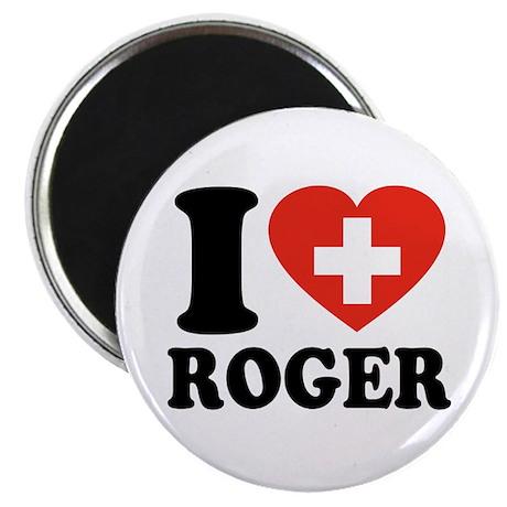 Love Roger Magnet