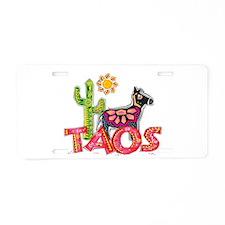 Taos Desert Aluminum License Plate
