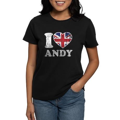 I Heart Andy Grunge Women's Dark T-Shirt