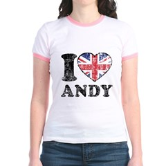 I Heart Andy Grunge T