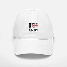 I Heart Andy Grunge Baseball Baseball Cap