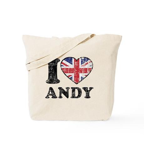 I Heart Andy Grunge Tote Bag
