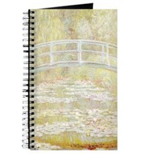 MONET Water Lily Pond 1899 Journal