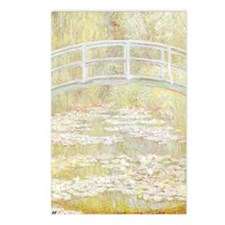 MONET Water Lily Pond 1899 Postcards (Pk of 8)