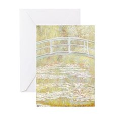 MONET Water Lily Pond 1899 Greeting Card