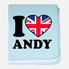 Love Andy baby blanket