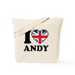 Love Andy Tote Bag