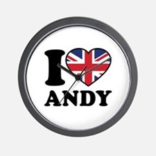 Love Andy Wall Clock