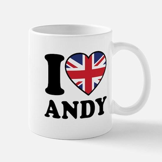 Love Andy Mug