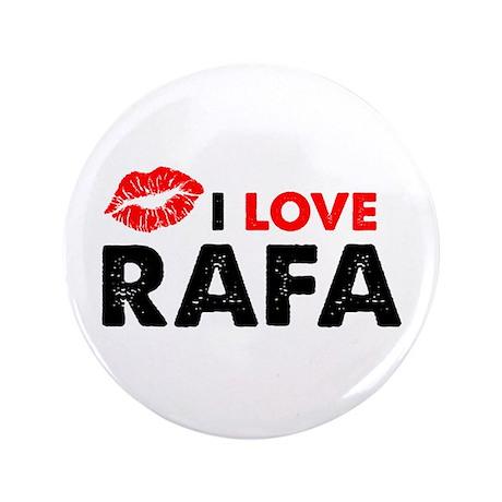 """Rafa Lips 3.5"""" Button"""
