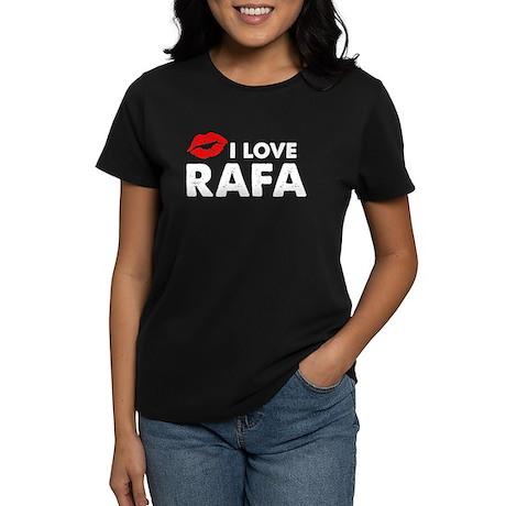 Rafa Lips Women's Dark T-Shirt