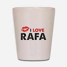 Rafa Lips Shot Glass