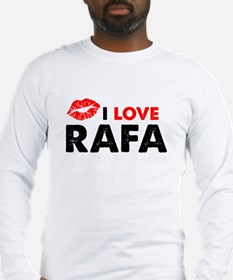 Rafa Lips Long Sleeve T-Shirt