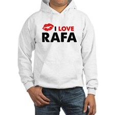 Rafa Lips Jumper Hoody