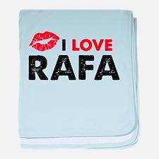 Rafa Lips baby blanket