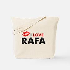 Rafa Lips Tote Bag