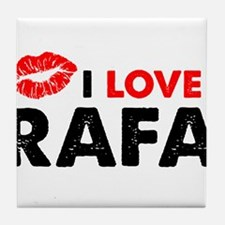 Rafa Lips Tile Coaster
