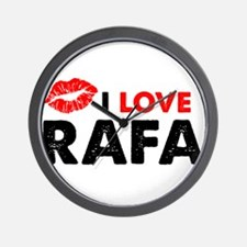 Rafa Lips Wall Clock