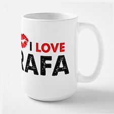 Rafa Lips Large Mug