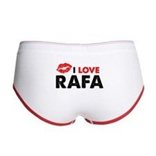 Rafa Lips Women's Boy Brief