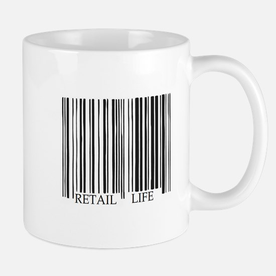 Retail Life Barcode Mug