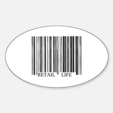 Retail Life Barcode Decal