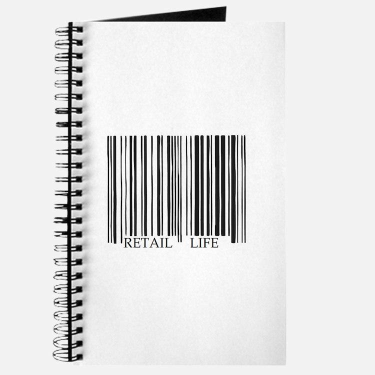 Retail Life Barcode Journal