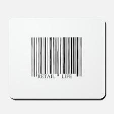 Retail Life Barcode Mousepad