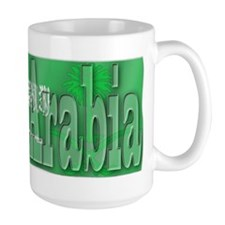 Silky Flag of Saudi Arabia Mug