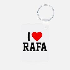 I Love Rafa Keychains