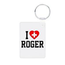 I Love Roger Keychains
