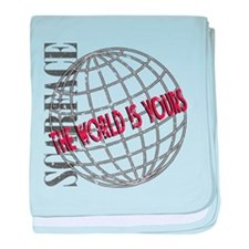 The World Is Yours baby blanket