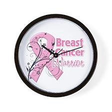 Breast Cancer Warrior Wall Clock