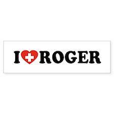 Love Roger Bumper Sticker