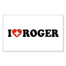 Love Roger Decal
