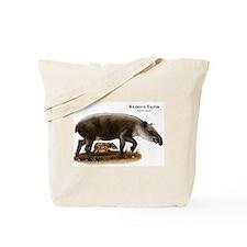 Baird's Tapir Tote Bag