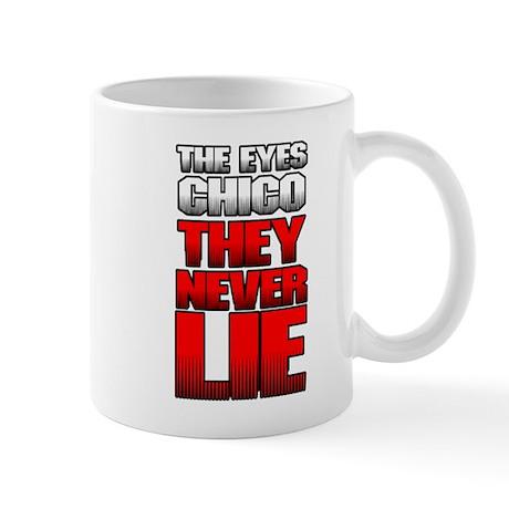 The Eyes Never Lie Mug