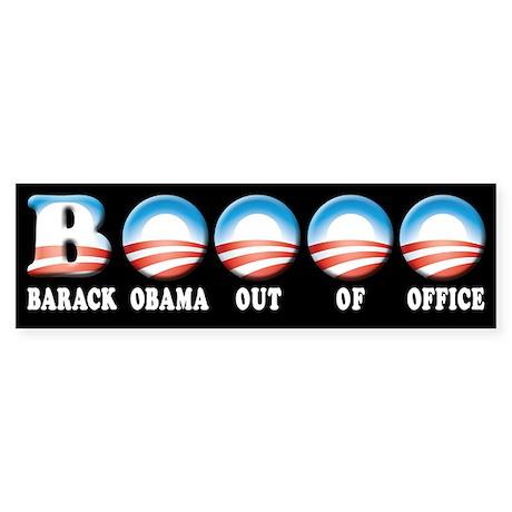 Barack Obama Out Of Office Sticker (Bumper)