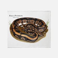 Ball Python Throw Blanket