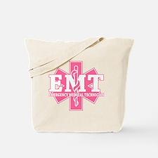 Star of Life EMT - pink Tote Bag